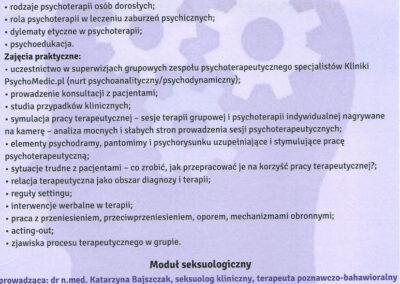 Scan cert psychomedic str2